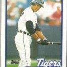 LOU WHITAKER 1989 Topps #320.  TIGERS
