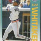 LOU WHITAKER 1992 Fleer #149.  TIGERS