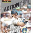 ROBIN YOUNT 1993 Leaf Action #16 of 30.  BREWERS
