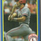 TODD ZEILE 1990 Score Rookie #600.  CARDS