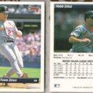 TODD ZEILE (2) 1993 Donruss #20.  CARDS