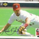 TODD ZEILE 1994 UD CC Silver Sig. Insert #305.  CARDS