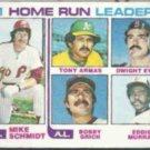 MIKE SCHMIDT 1982 Topps #162 w/ Murray, Grich++.  PHILLIES