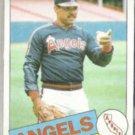 REGGIE JACKSON 1985 Topps #200.  ANGELS