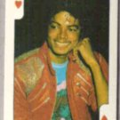 MICHAEL JACKSON (K of Hearts) 1986 Dandy Rock n Bubble