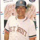 LOU WHITAKER 1988 Fleer #75.  TIGERS