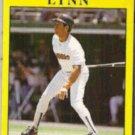 FRED LYNN 1991 Fleer #536.  PADRES