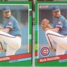 RICK SUTCLIFFE (2) 1991 Donruss #462.  CUBS