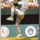 DAVE STEWART 1992 Fleer Ultra #117.  A's