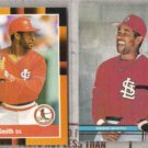 OZZIE SMITH 1988 Donruss Best + 1991 SC.  CARDS