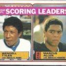 MARCUS ALLEN 1983 Topps Leaders #205.  RAIDERS