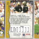 MORTEN ANDERSEN (3) 1993 Pro Set #285.  SAINTS