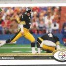 GARY ANDERSON 1991 Upper Deck #488.  STEELERS
