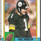 GARY ANDERSON 1990 Topps #182.  STEELERS
