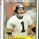 GARY ANDERSON 1983 Topps #356.  STEELERS