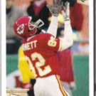 TIM BARNETT 1992 Upper Deck ART #37.  CHIEFS