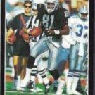 TIM BROWN 1993 Pinnacle #186.  RAIDERS