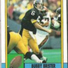BUBBY BRISTER 1990 Topps #183.  STEELERS