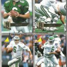 BUBBY BRISTER (4) diff. 1995 Pinnacle Lot.  EAGLES