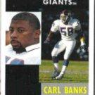 CARL BANKS 1991 Pinnacle #344.  GIANTS