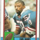 CARL BANKS 1990 Topps #53.  GIANTS