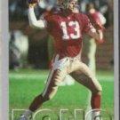 STEVE BONO 1993 Fleer #27.  49ers