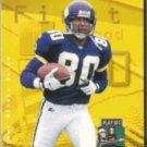 CRIS CARTER 1997 Playoff 1st & 10 #165.  VIKINGS