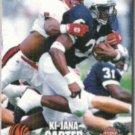 KI-JANA CARTER 1995 Classic Draft #1.  BENGALS