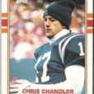CHRIS CHANDLER 1989 Topps #209.  COLTS