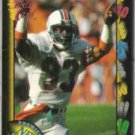 MARK CLAYTON 1991 Wild Card #99.  DOLPHINS