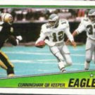 RANDALL CUNNINGHAM 1988 Topps Action #233.  EAGLES