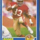 ROGER CRAIG 1989 Score #4.  49ers
