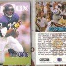 ROGER CRAIG (2) 1993 Skybox #351.  VIKINGS