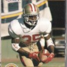 DEXTER CARTER 1990 Pro Set Draft Pick #693.  49ers