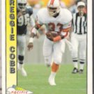 REGGIE COBB 1991 Pacific #499.  BUCS