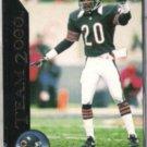 MARK CARRIER 1992 Pinnacle Team 2000 #22 of 30.  BEARS