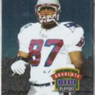 BEN COATES 1996 Playoff Absolute #081.  PATRIOTS