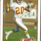DERON CHERRY 1991 Topps #142.  CHIEFS