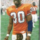 TERRELL DAVIS 1996 Pinnacle Action Packed #94.  BRONCOS