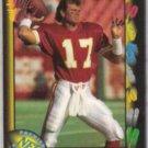 STEVE DeBERG 1991 Wild Card #33.  CHIEFS