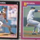 BOB OJEDA 1991 Score #321 + Traded #79T.  METS / DODGERS