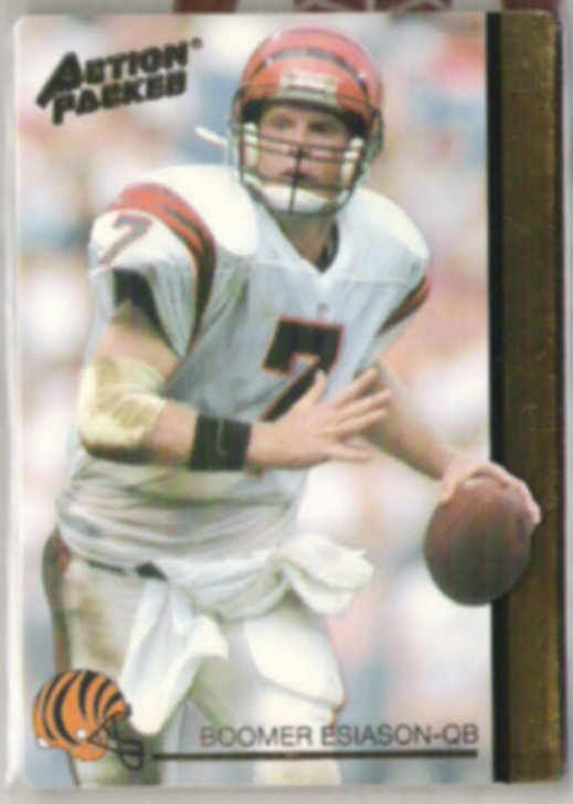 BOOMER ESIASON 1992 Action Packed #79.  BENGALS