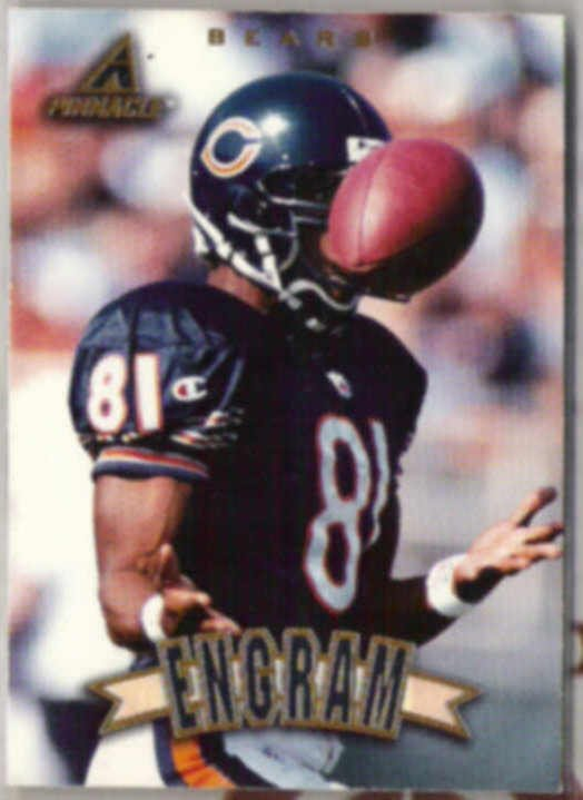 BOBBY ENGRAM 1997 Pinnacle #112.  BEARS