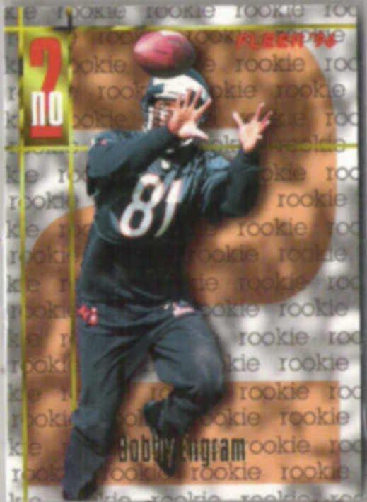 BOBBY ENGRAM 1996 Fleer Rookie #153.  BEARS