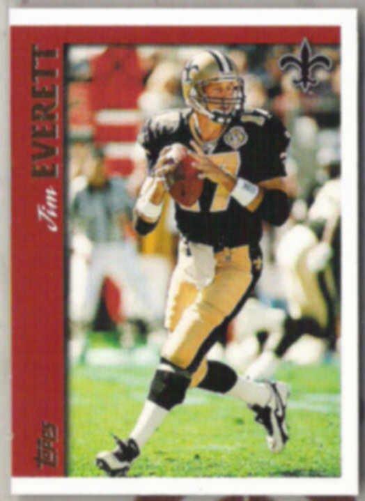 JIM EVERETT 1997 Topps #281.  SAINTS