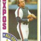 GARY CARTER 1984 Topps AS #393.  EXPOS