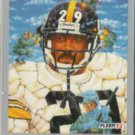 BARRY FOSTER 1993 Fleer Pro Vision #248.  STEELERS