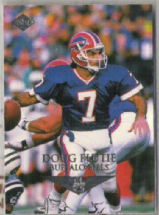 DOUG FLUTIE 1996 Edge #16.  BILLS