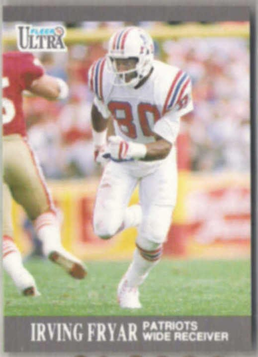 IRVING FRYAR 1991 Fleer Ultra #95.  PATRIOTS