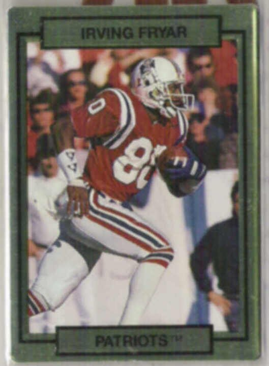 IRVING FRYAR 1990 Action Packed #162.  PATRIOTS